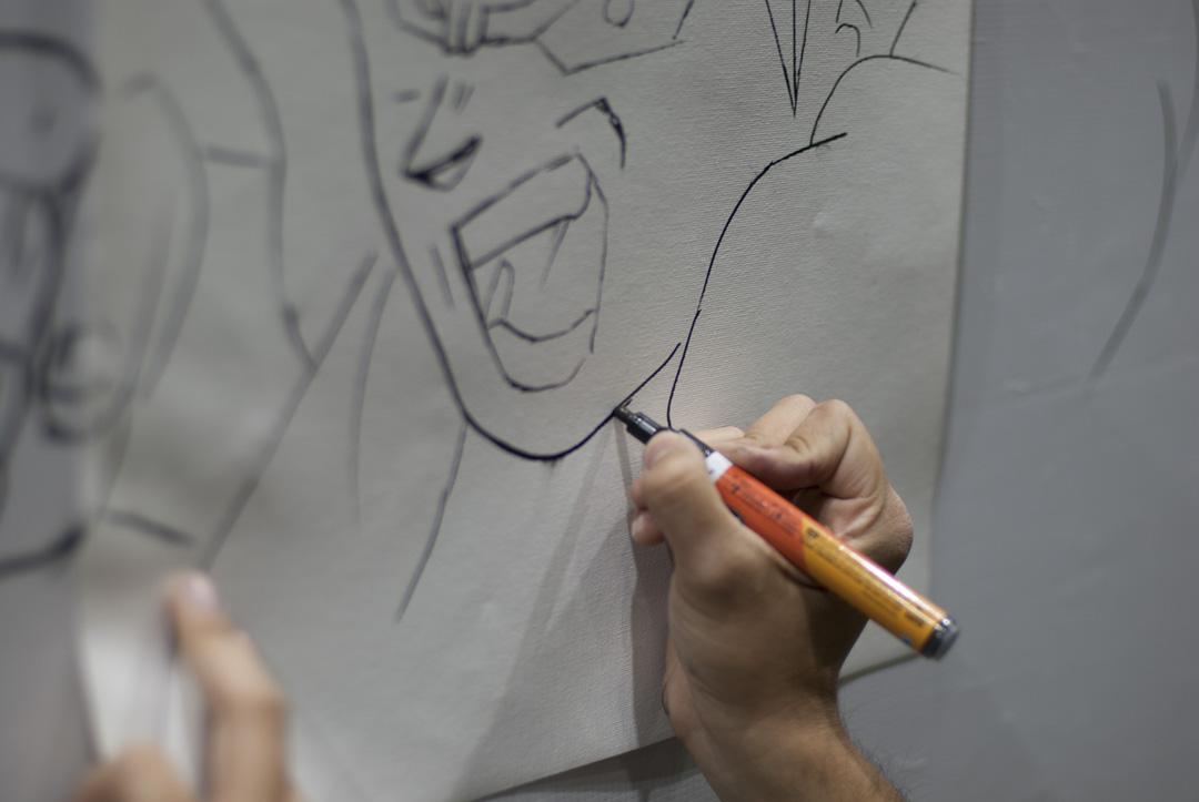 DB Z Graff Comicon 19