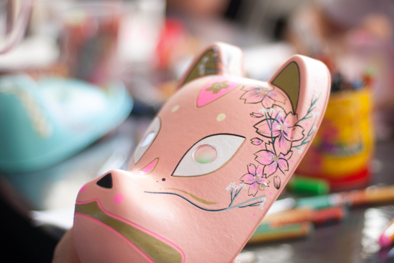 Custom Kitsune Mask