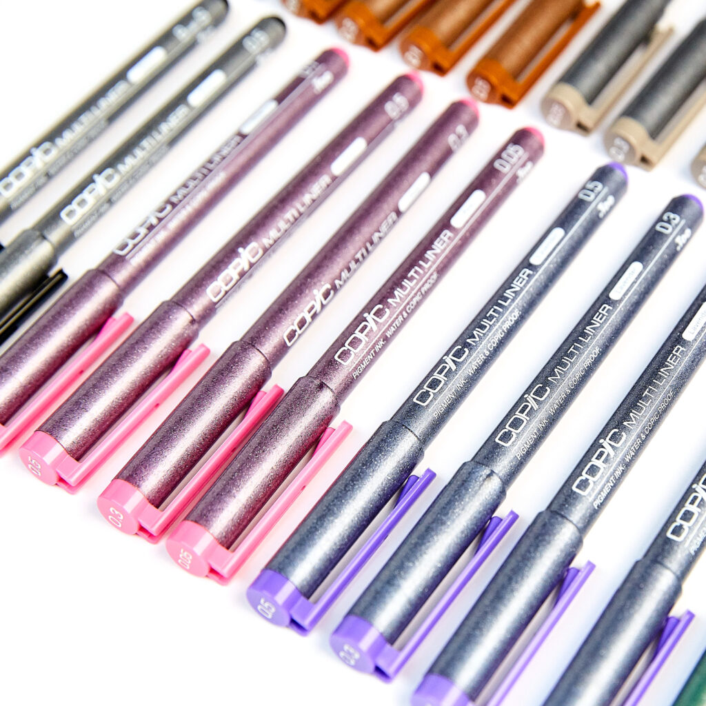 Drawing pens Copic